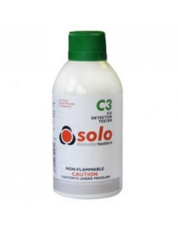 Solo C3 CO Carbon Monoxide Detector test spray