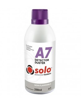 Solo A7 Smoke Detector Cleaner Duster Spray-250ml- (Non Flammable)